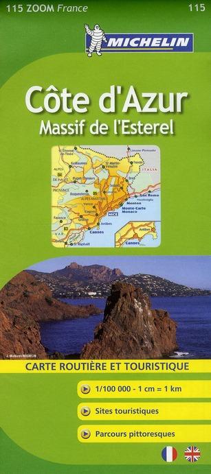 Côte d'Azur ; massif de l'Esterel