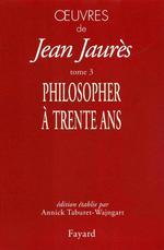 Vente EBooks : Oeuvres tome 3  - Jean Jaurès