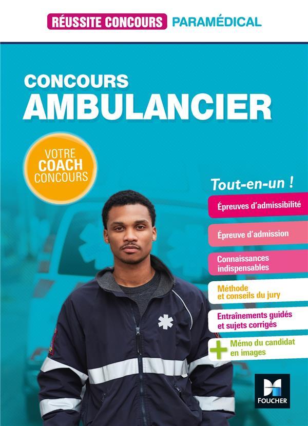 REUSSITE CONCOURS  -  CONCOURS AMBULANCIER  -  TOU-EN-UN THIMON, ANTOINE