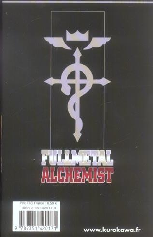 Fullmetal alchemist t.1