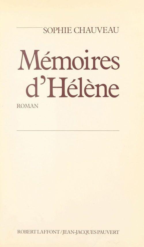 Memoires d helene