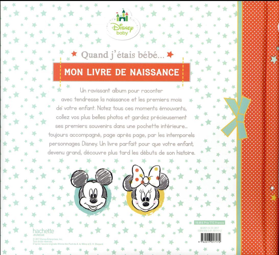Disney Baby Livre De Naissance Collectif Disney Hachette Grand Format Al Kitab Tunis Le Colisee