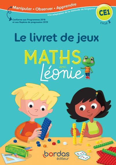 Les mathématiques avec Léonie ; CE1 ; le livret de jeu (édition 2020)