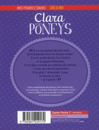 Clara et les poneys t.1 ; apprentie cavalière