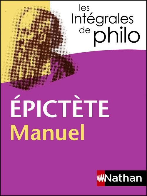 Epictète ; manuel