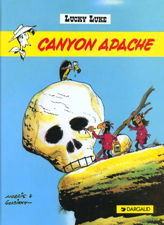 Lucky Luke T.6 ; Canyon apache