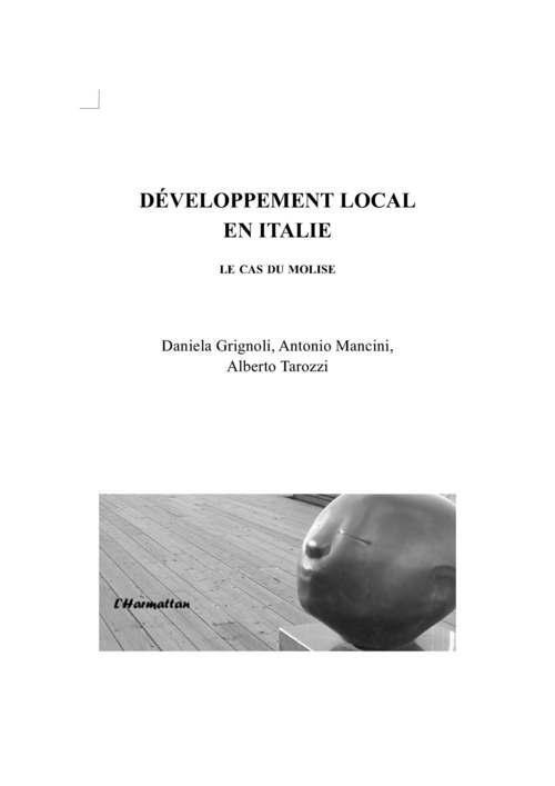 Developpement local en italie - le cas du molise
