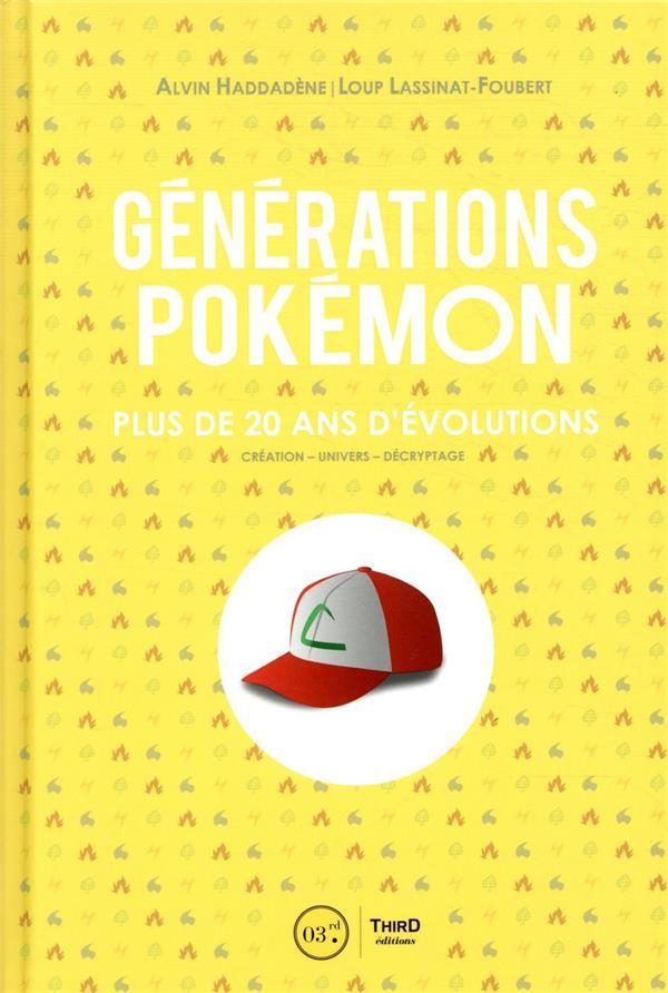 Générations Pokemon ; plus de 20 ans d'évolutions