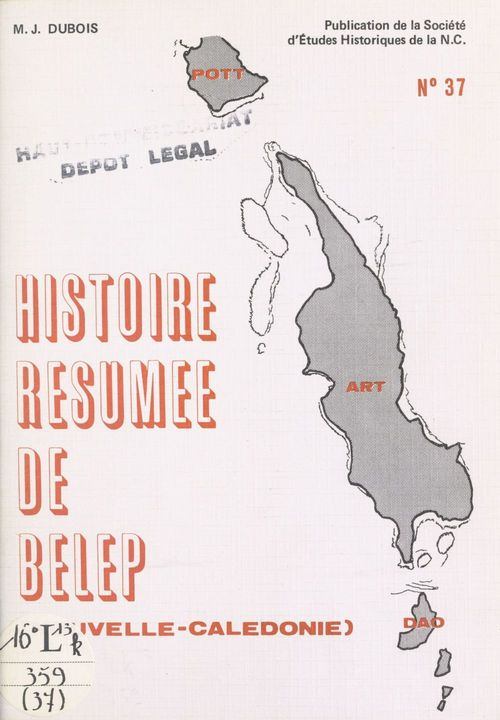 Histoire résumée de Belep, Nouvelle-Calédonie