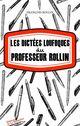 Les Dictées loufoques du professeur Rollin  - François Rollin