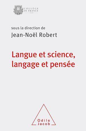 Langue et science, langage et pensée