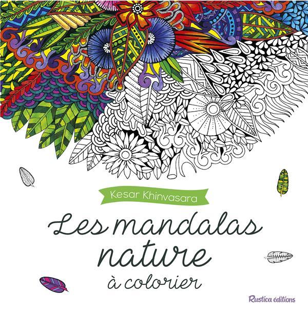 Les mandalas nature à colorier