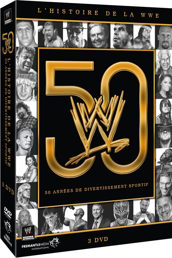 coffret the history of WWE : 50 years of sports entertainment