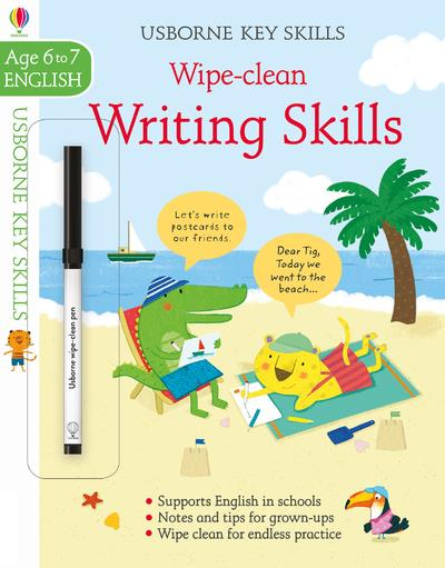 writing skills ; age to 6/7