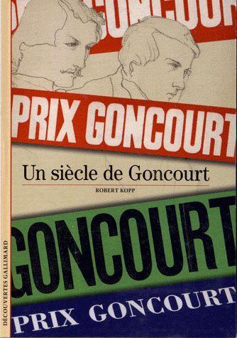 Le prix Goncourt