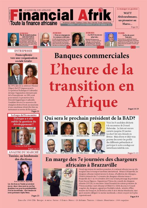 Financial Afrik n°13 decembre 2014