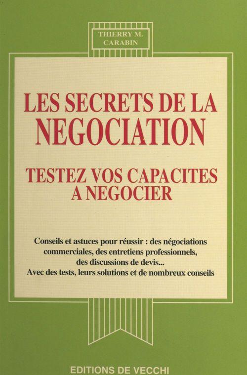 Les secrets de la negociation