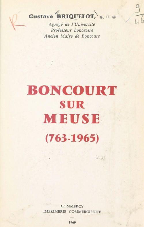 Boncourt-sur-Meuse