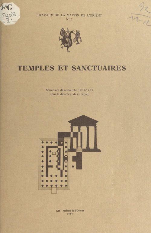Temples et sanctuaires