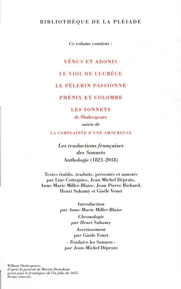 Oeuvres complètes t.8 ; sonnets et autres poèmes