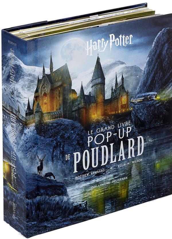 Harry Potter ; le grand livre pop-up de Poudlard