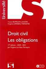 Droit civil ; les obligations (édition 2020/2021)