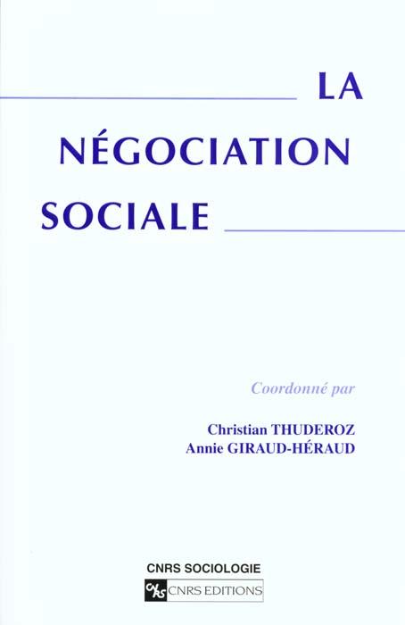 Negociation sociale