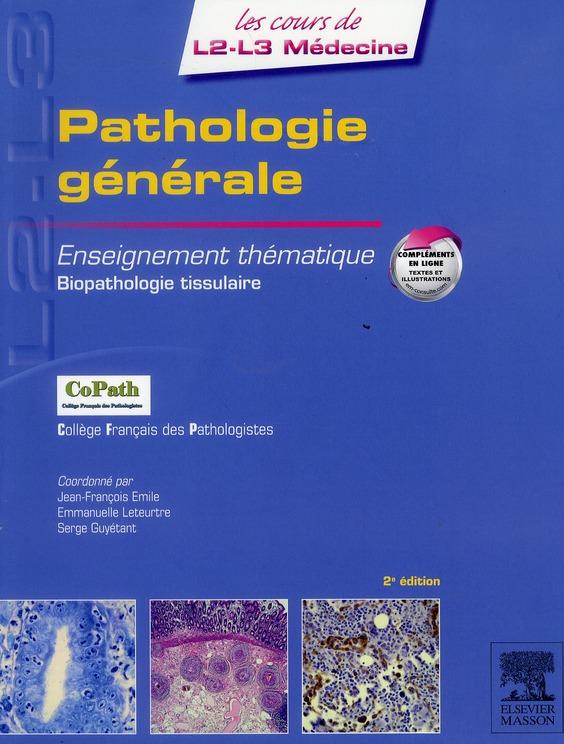 Pathologie générale (2e édition)