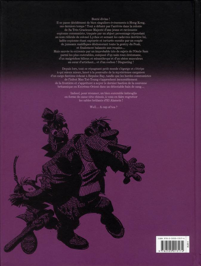 Les Innommables T.1 ; le cycle de Honk-Kong