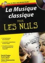 Couverture de La musique classique pour les nuls