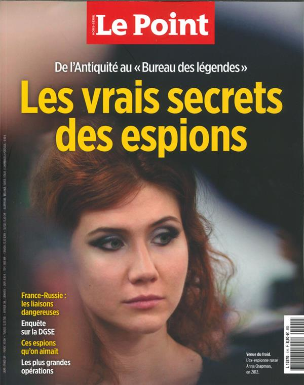 Le Point Hs N 1 Services Secrets Francais Et Internationaux - Mars 2020