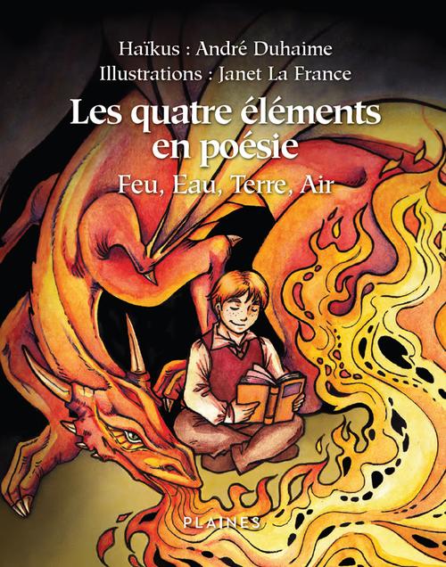 Les quatre elements en poesie : feu, eau, terre, air