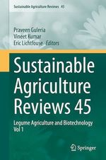 Sustainable Agriculture Reviews 45  - Vineet Kumar - Eric Lichtfouse - Praveen Guleria