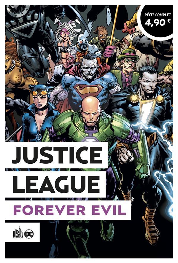 Justice League ; forever evil