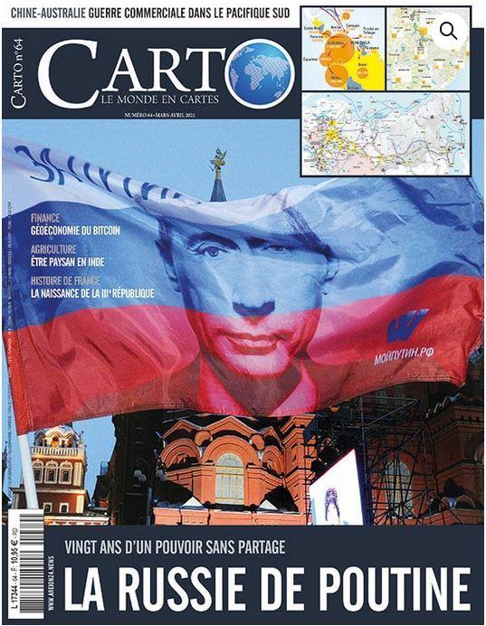 Carto n 64 - la russie de poutine - mars 2021