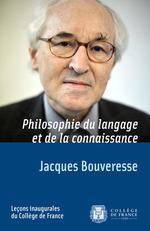 Vente EBooks : Philosophie du langage et de la connaissance  - Jacques BOUVERESSE