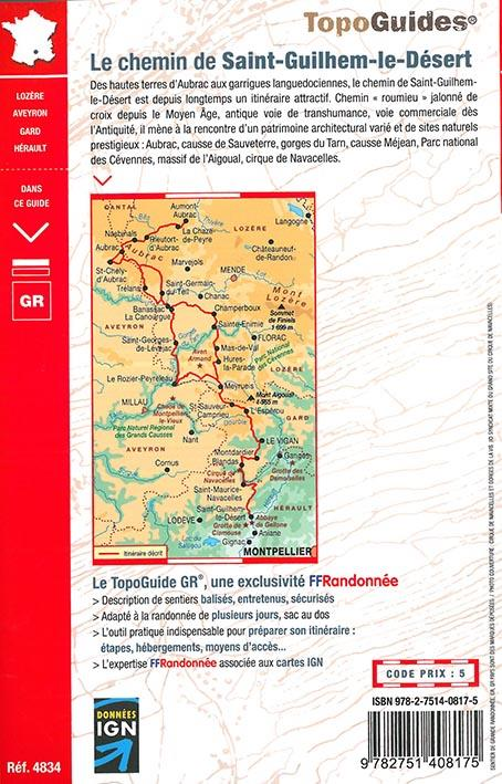 Le chemin de Saint-Guilhem-le-Désert (édition 2016)