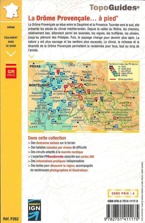 La Drôme provençale... à pied ; GR pays