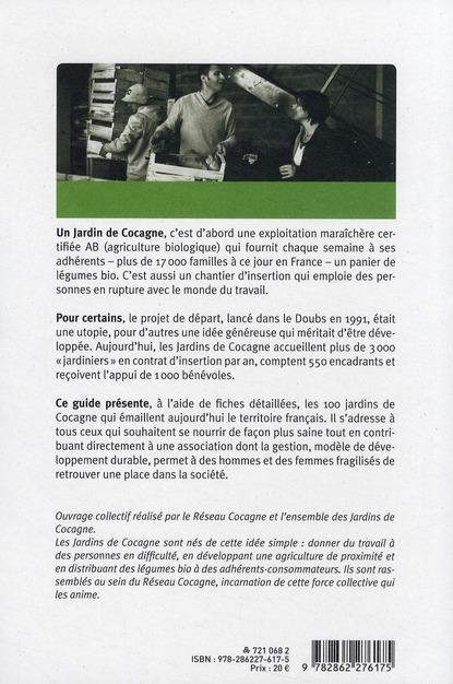 Guide des jardins de Cocagne ; cultivons la solidarité !