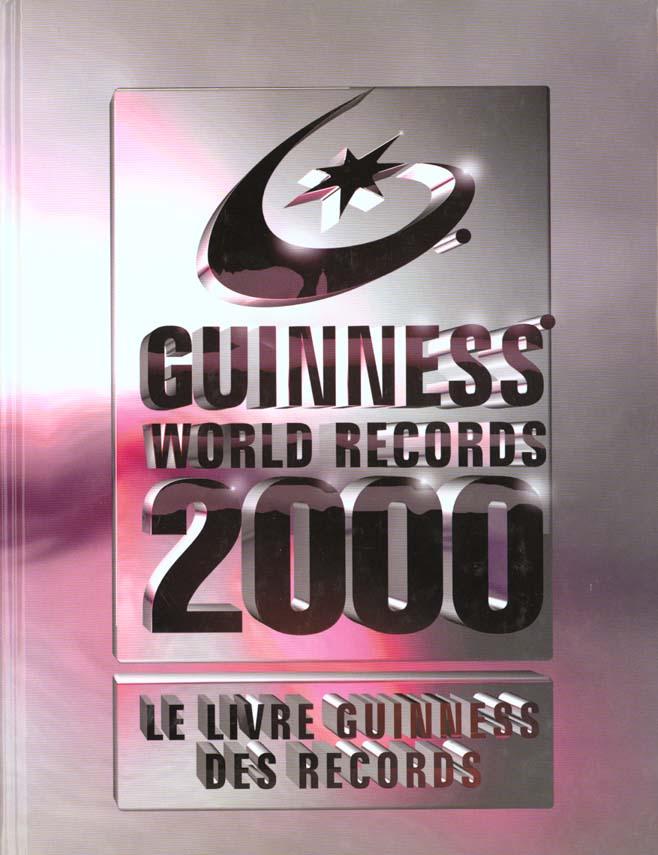 Le livre guiness des records 2000