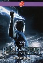 Couverture de Percy jackson t.1 ; percy jackson t.1 ; le voleur de foudre