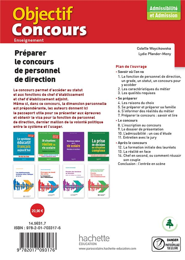 Préparer le concours de personnel de direction (édition 2021)
