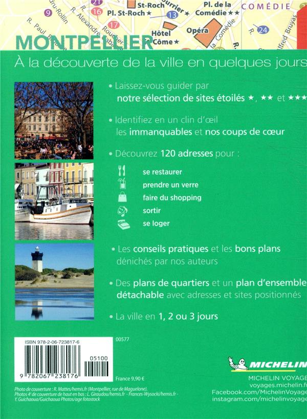 le guide vert week-end ; Montpellier