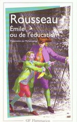 Couverture de Emile ou de l'education