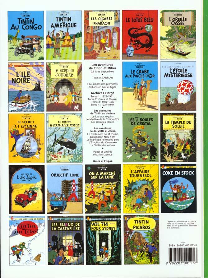 Les aventures de Tintin t.18 ; l'affaire Tournesol