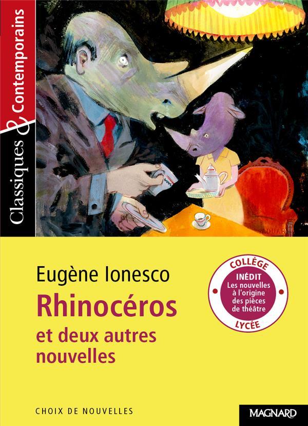 Rhinocéros et deux autres nouvelles