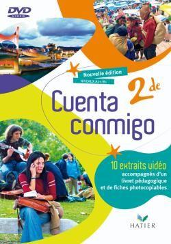 CUENTA CONMIGO ; espagnol ; 2nde ; DVD (édition 2009)
