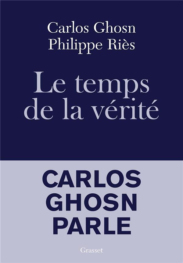 Le temps de la vérité ; Carlos Ghosn parle