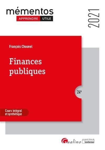 Finances publiques (édition 2021)