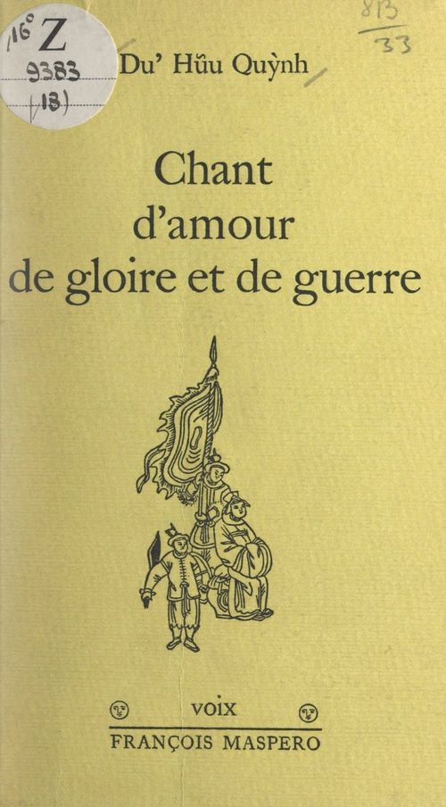 Chant d'amour, de gloire et de guerre